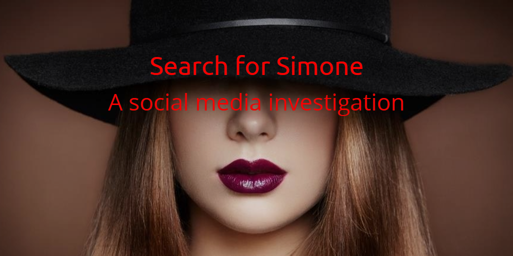 Simone – A social media investigation