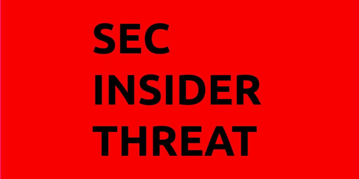 Insider threat: former SEC investigator charged