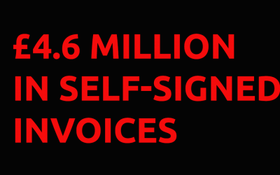 Insider Threats: £4.6m in self-signed invoices