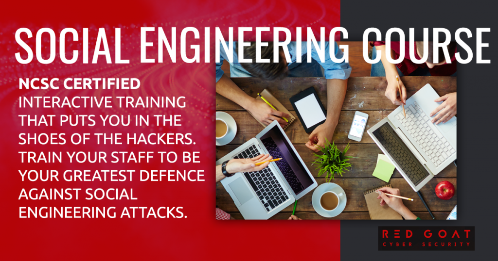 Social engineering training