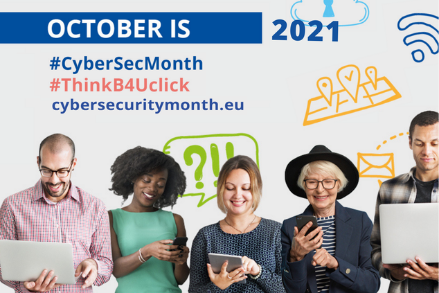 Get staff engaged for Cybersecurity Awareness Month