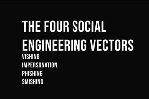 the 4 social engineering vectors