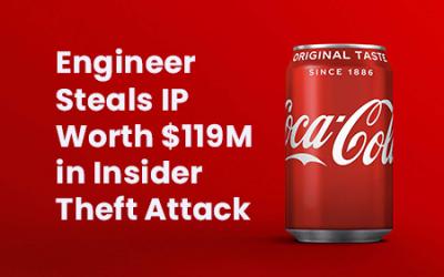 Insider Theft of $119M worth of Coca Cola IP