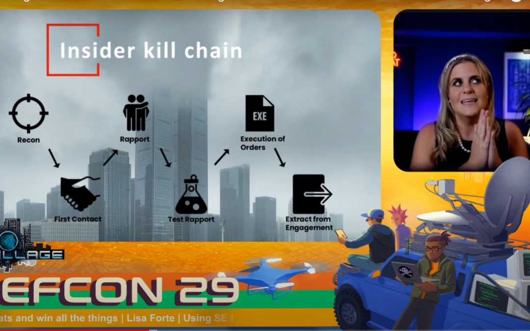 Defcon Talk: Using SE to create insider threats and win all the things